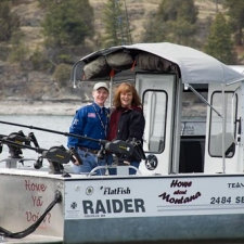 "Mike and Cindy Howe Owners A Able Fishing Charters and Tours Flathead Lake Bigfork Montana Fishing Outfitter • <a style=""font-size:0.8em;"" href=""http://www.flickr.com/photos/78998259@N03/7072257591/"" target=""_blank"">View on Flickr</a>"