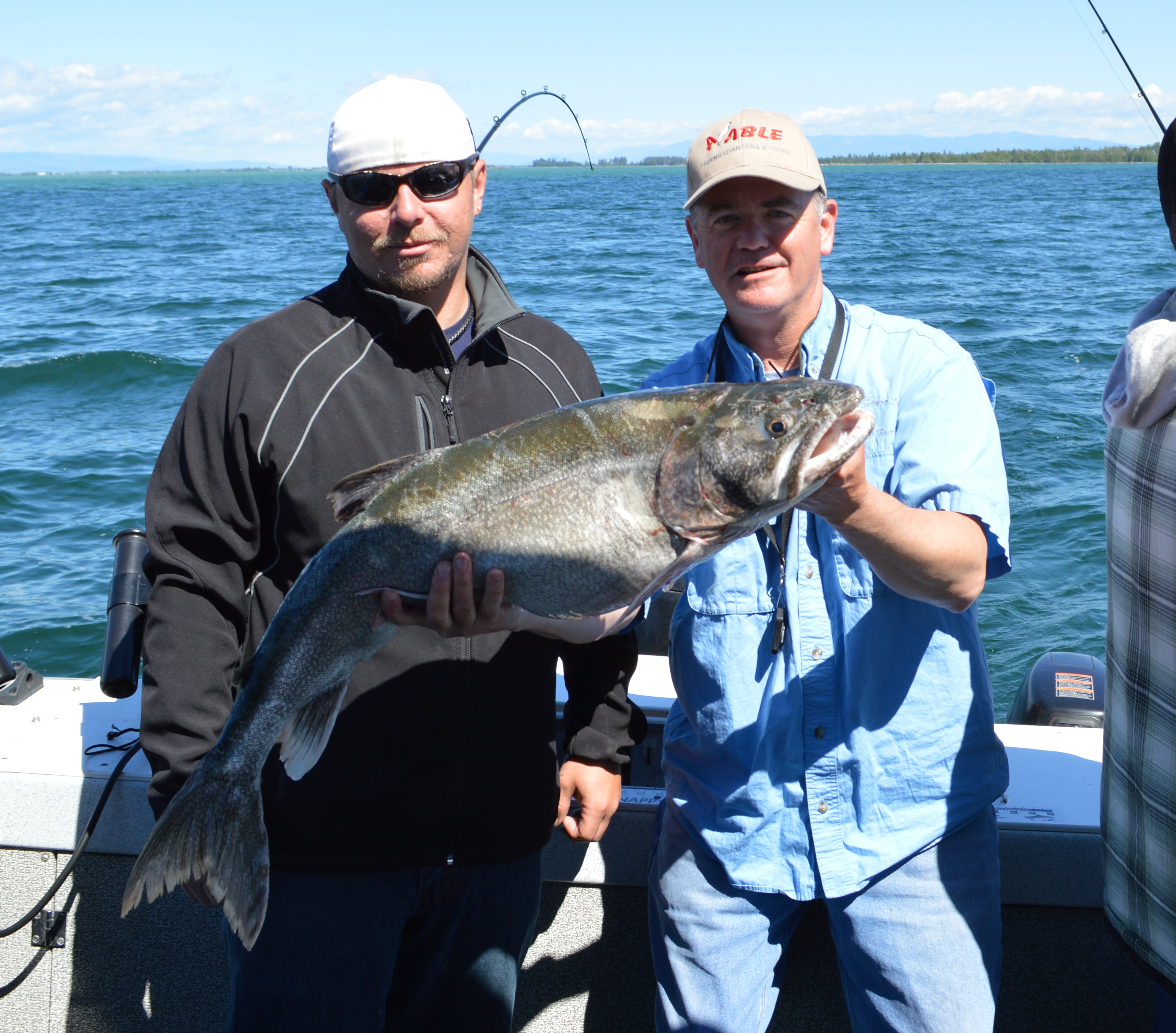 Dave courtney howe 39 s fishing a able charters for Flathead lake fishing